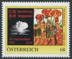 ÖSTERREICH / PM Nr. 8115612 / 70 Jahre Hiroshima / Postfrisch / MNH / ** - Personalisierte Briefmarken