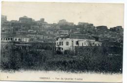 tripoli - vue du quartier  coubb�  n� 5