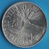 VATICAN 10 LIRE 1984  Année De La Paix  Jean-Paul II  IOANNES PAVLVS II   UNC - Vaticano (Ciudad Del)