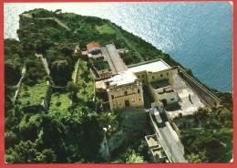 CARTOLINA NV ITALIA - GAETA (LT) - Santuario Montagna Spaccata - Veduta Aerea - 10 X 15 - Latina
