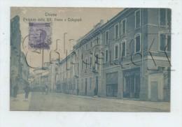 Thiene (Italie, Veneto) :Poste E Telegrafi En 1918 PF. - Italia