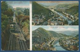Bad Ems Lahntal Malbergbahn Seilbahn, Gelaufen 1912 (AK119) - Bad Ems