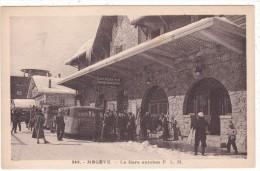 249.  -   MEGEVE   -  La  Gare  Autobus  P.  L.  M. - Megève