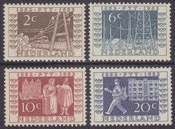 Nederland 1952 NVPH 592-595 Tentoonstellingszegels I.T.E.P. Postfris (MNH) - Periode 1949-1980 (Juliana)
