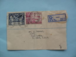 Enveloppe NIGERIA- FORT LAMY   1 DECEMBRE 1949 - Nigeria (...-1960)