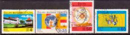 CEYLON 1969 SG #555-58 Compl. Set Used Educational Centenary - Sri Lanka (Ceylon) (1948-...)