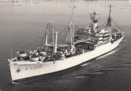 NAVE ETNA  ( Ex USS Whitley - AKA Classe Andromeda Della United States Navy  / Cartolina Viaggiata - Guerra