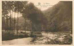 LE HEROU - Passerelle Sur L'Ourthe Pris Du Moulin De Spilanche - Belgique