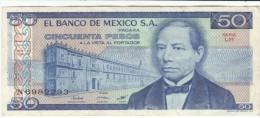 Mexico #73 50 Pesos 1981 Banknote Currency Money - Mexico