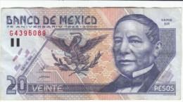 Mexico #111 20 Pesos 2000 75th Anniversary Of Banco De Mexico Banknote Currency Money - Mexico