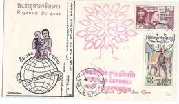 LMM13 - LAOS (ROYAUME) - FDC - Laos