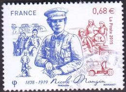 Oblitération Cachet à Date Sur Timbre De France N° 4936 - Nicole Mangin - Usati
