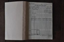 """Dieppe, Registre D'entrées Cinéma """"Le Royal"""", 1989 - Old Professions"""