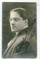 """AUTOGRAFO DÉDICACÉ AUTOGRAPHED """"ESTANISLAO STANI"""" VINTAGE 1915 ACTOR-ACTEUR SIGNATURE EXCLUSIVE GECKO"""