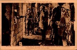 LES COMBATS DU FORT DE VAUX....CPA ANIMEE - War 1914-18