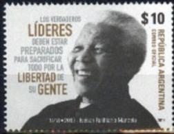 Argentina 2014 ** Líderes: Nelson R. Mandela. See Description - Argentina