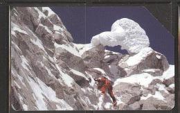 A1343  SCHEDA TELEFONICA 100.000  DA € 5,00 ALPINISMO MONTAGNA WWW.COLLEZIONISMO  TELECOM ITALIA ITALIANA - Montagne