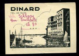 Vieux Papiers- Pub Dinard Hôtel Pritania - Reclame