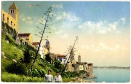 Rab Arbe Old Postcard Travelled 1923 Bb - Croazia