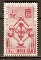 HAITI.    Aéro .     1958.   Y&T N°121 *.   Exposition De Bruxelles - Haiti