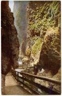 Liechtensteinklamm Old Vintage Unused Postcard Bb - St. Johann Im Pongau