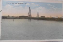 Pond Of Oil Oklahoma Near Muskogee - Muskogee