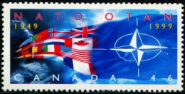 CA0594 Canada 1999 NATO Countries Flags 1v MNH - Nuovi