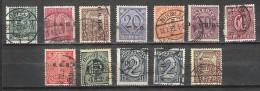 Allemagne - Plébiscites - Haute Silésie - Service - 1920 - 8/20 - Oblitérés - Germany