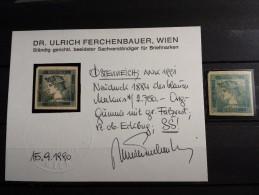 M1 - Autriche - Timbre(s)  Mh* avec certificat - parfait �tat - voir 2 scan(s)
