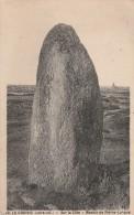 Cpa N° 40 LE CROISIC Sur La Côte Menhir De Pierre Longue - Le Croisic