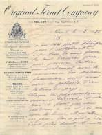 FACTURE LETTRE : MILANO . ORIGINAL FERNET COMPANY . 1926 . - Italie