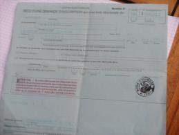 Ollioules - Certificat D'inscription Sur Liste électorale - Toulon - 1980 - Old Paper