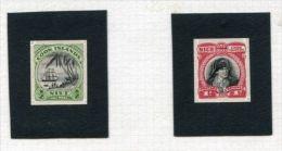 NIUE PACIFIC DIE PROOFS CAPTAIN COOK PERKINS BACON 1932 - Niue