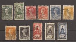 NEDERLAND  121 - 131  GESTEMPELD - OBLITERE - USED - GESTEMPELT - 1891-1948 (Wilhelmine)