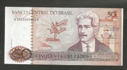 BRASIL - BANCO CENTRAL Do BRASIL - 50 CRUZADOS / OSWALDO CRUZ - Brasile