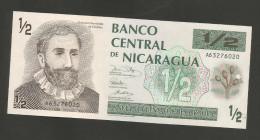 NICARAGUA - BANCO CENTRAL De NICARAGUA - 50 CENTAVOS - 1/2 CORDOBA (1991) - Nicaragua