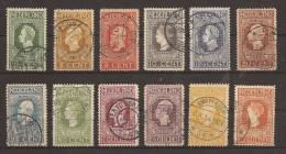 NEDERLAND  90  -  101  GESTEMPELD - OBLITERE - USED - GESTEMPELT - 1891-1948 (Wilhelmine)