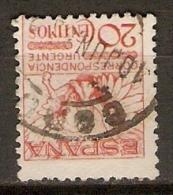 ESPAGNE      Pour Express.    1929.     Y&T N° 5b Oblitéré.   Sans Numéro De Contrôle Au Dos. - Eilbriefmarken