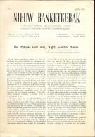 Magazine Nieuw Banketgebak - Room - Slagroom - Pralines - April 1948 - Livres, BD, Revues
