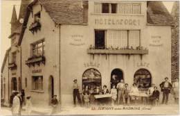 JUVIGNY Sous ANDAINE  ( Hôtel De La Forêt, Tabac, Café ) - Juvigny Sous Andaine