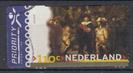 Nederland - Rembrandt - De Nachtwacht - Gebruikt/gebraucht/used - NVPH 1907 - Periode 1980-... (Beatrix)