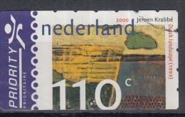 Nederland - Jeroen Krabbé - Nederlands Landschap -  Dutch Landscape (1993) - Gebruikt/gebraucht/used - NVPH 1908 - Periode 1980-... (Beatrix)
