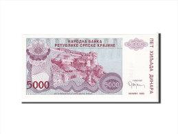 [#111629] Croatie, 5000 Dinara Type 1993 - Croatie