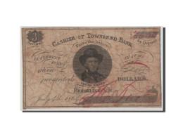 [#44791] Etats-Unis, Obsol�tes, New Hampshire, Townsend Bank, 3 Cents 4.7.1864