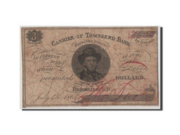 [#44791] Etats-Unis, Obsolètes, New Hampshire, Townsend Bank, 3 Cents 4.7.1864 - New Hampshire