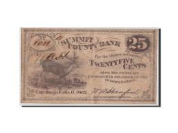 [#44774] Etats-Unis, Obsol�tes, Cuyahoga Falls, Summit County, 25 Cents 1862
