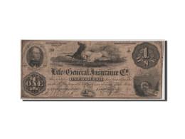 [#44796] Etats-Unis, Obsol�tes, Tennesse, Nashville Insurance, 1 Dollar Oct. 1854