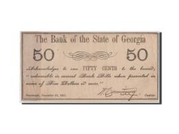[#44724] Etats-Unis, Obsolètes, Georgia, Bank Of State, 50 Cents 10.12.1861 - Georgia