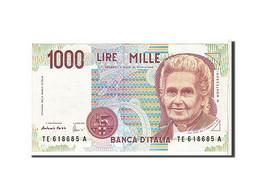 Italie, 1000 Lire Type 1990 - [ 2] 1946-… : République