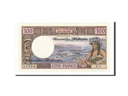 Nouvelles-Hébrides, 100 Francs Type 1970 - Bankbiljetten